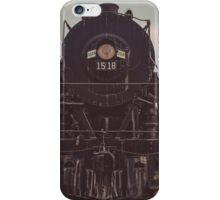 Portrait of Engine 1518 iPhone Case/Skin
