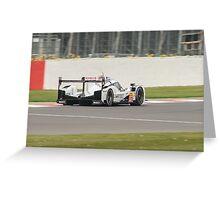 2015 WEC Porsche Team No 17 (2) Greeting Card