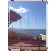Italy sea picture iPad Case/Skin