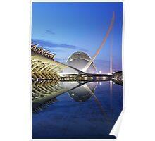 Valencia morning light Poster