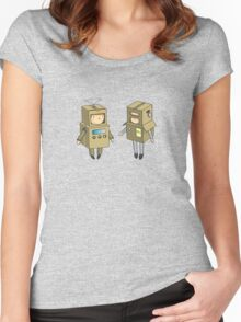 we can be robots Women's Fitted Scoop T-Shirt