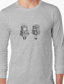 we can be robots b/w Long Sleeve T-Shirt