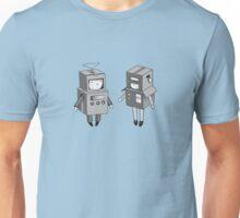 we can be robots b/w Unisex T-Shirt