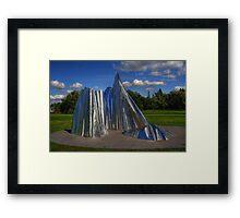 """""""Agassiz Ice"""" Framed Print"""