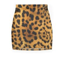 Leopard skin Mini Skirt