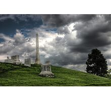 Clouds over Arlington Photographic Print