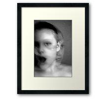 Soul meets body Framed Print