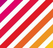 Rainbow stripey thing Sticker
