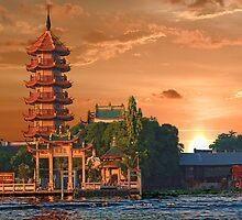 Chao Phraya River, Bangkok, Thailand by vadim19