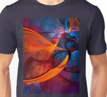 Infinity- colorful digital abstract  Unisex T-Shirt