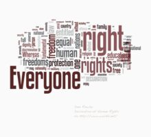 Universal Declaration of Human Rights by Dave Rowley