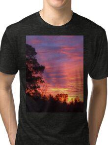 Sunset in South Carolina Tri-blend T-Shirt