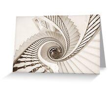Helix vertigo Greeting Card