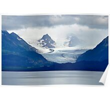 On Ice -  Kachemak Bay Alaska Poster