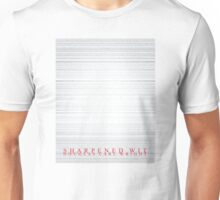 Sharpened Wit Unisex T-Shirt
