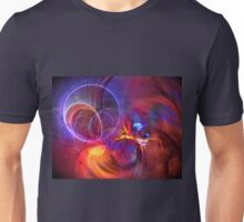 Late Flight  - colorful digital abstract art  Unisex T-Shirt