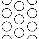 Rings Pattern Design by robotplunger