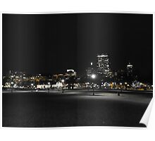 The City at Night Poster