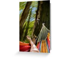 Color Whirl Greeting Card