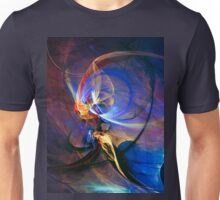 Journey of the soul - colorful digital abstract art  Unisex T-Shirt