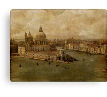 Vintage Venice Canvas Print