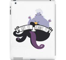 Ursula - Got It Flaunt It iPad Case/Skin