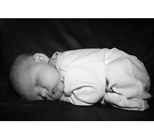 Sleeping Baby Photographic Print