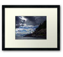 Pender Island B.C.  Framed Print