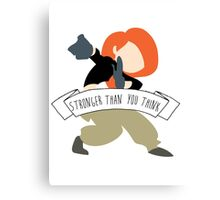 Kim Possible - Stronger Than You Think Canvas Print