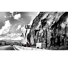 Road Construction Photographic Print
