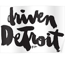 Driven Detroit : Light Poster