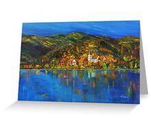 Lake Bled  (Slovenia) Greeting Card