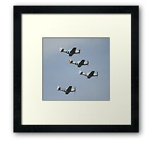 WWII Planes Framed Print