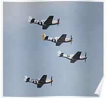 WWII Planes Poster