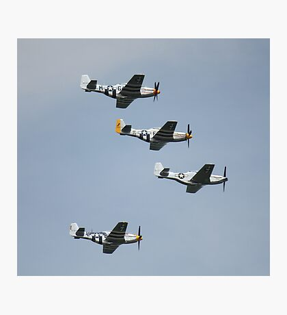 WWII Planes Photographic Print