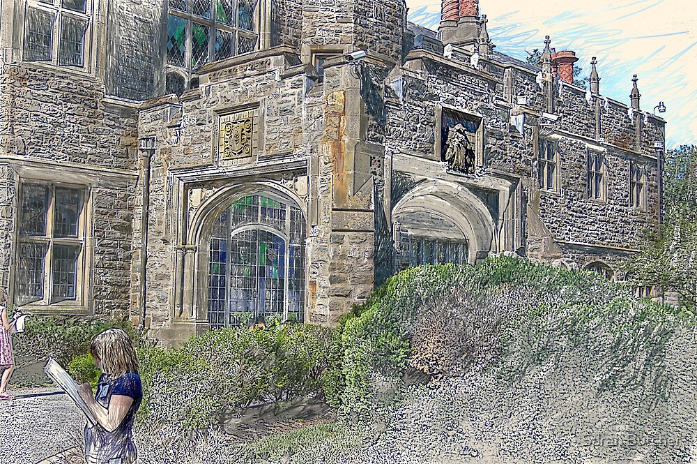 The Front of the Castle by Sarah Butcher