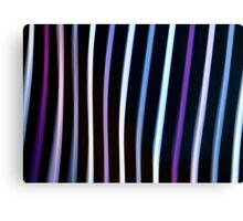 Stripes in Motion #1 Canvas Print