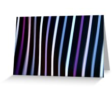 Stripes in Motion #1 Greeting Card