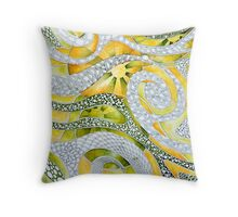 Enervated Energy Throw Pillow