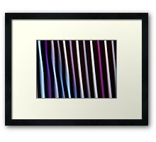 Stripes in Motion #2 Framed Print