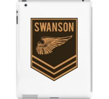 Parks and Recreation - Swanson Ranger Club iPad Case/Skin