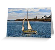 Santa Cruz Mark Abbott Memorial Lighthouse, CA Greeting Card