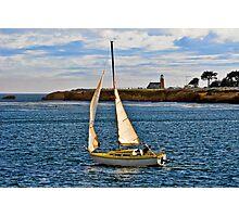 Santa Cruz Mark Abbott Memorial Lighthouse, CA Photographic Print