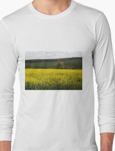 Rapeseed fields Long Sleeve T-Shirt