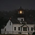 Point Pinos Lighthouse, CA by Christine Till  @    CT-Graphics