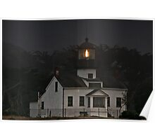 Point Pinos Lighthouse, CA Poster