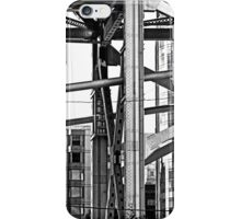 Urban Living in San Francisco - The Bay Bridge & Apartments iPhone Case/Skin