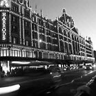 Harrods london taxi by S.J. Scales
