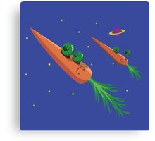Veggie Rockets Canvas Print