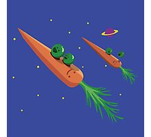 Veggie Rockets Photographic Print
